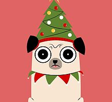 It's Christmas for Pug's sake by cartoonbeing