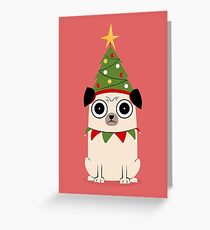It's Christmas for Pug's sake Greeting Card