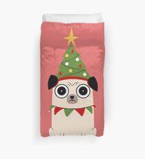 It's Christmas for Pug's sake Duvet Cover