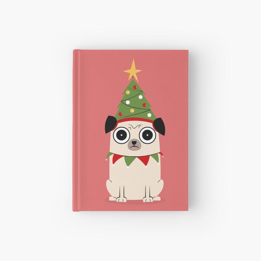 Es ist Weihnachten um Pug willen Notizbuch
