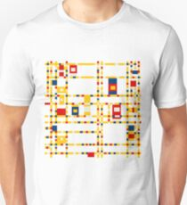 Broadway (Mondrian) Unisex T-Shirt