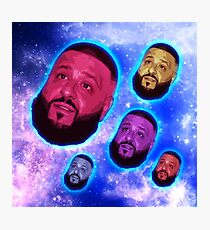 Khaled in Space Photographic Print