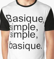 Orelsan, basic, simple Graphic T-Shirt