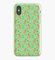 GINGERBREAD MAN  iPhone Case/Skin