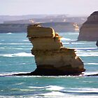 Rock Stack and Headlands  by cjcphotography