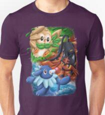 Pokemon Alolan Starters T-Shirt