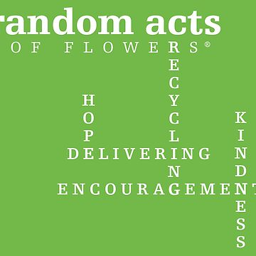 Random Acts of Flowers - Delivering Hope Crossword by RndmActsofFlwrs