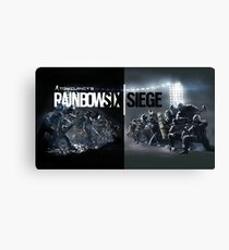 rainbow six siege Canvas Print