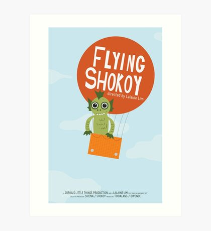 Flying Shokoy Art Print