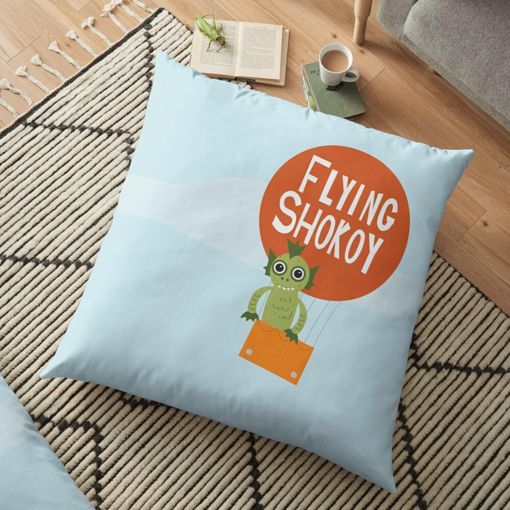 Flying Shokoy Floor Pillow