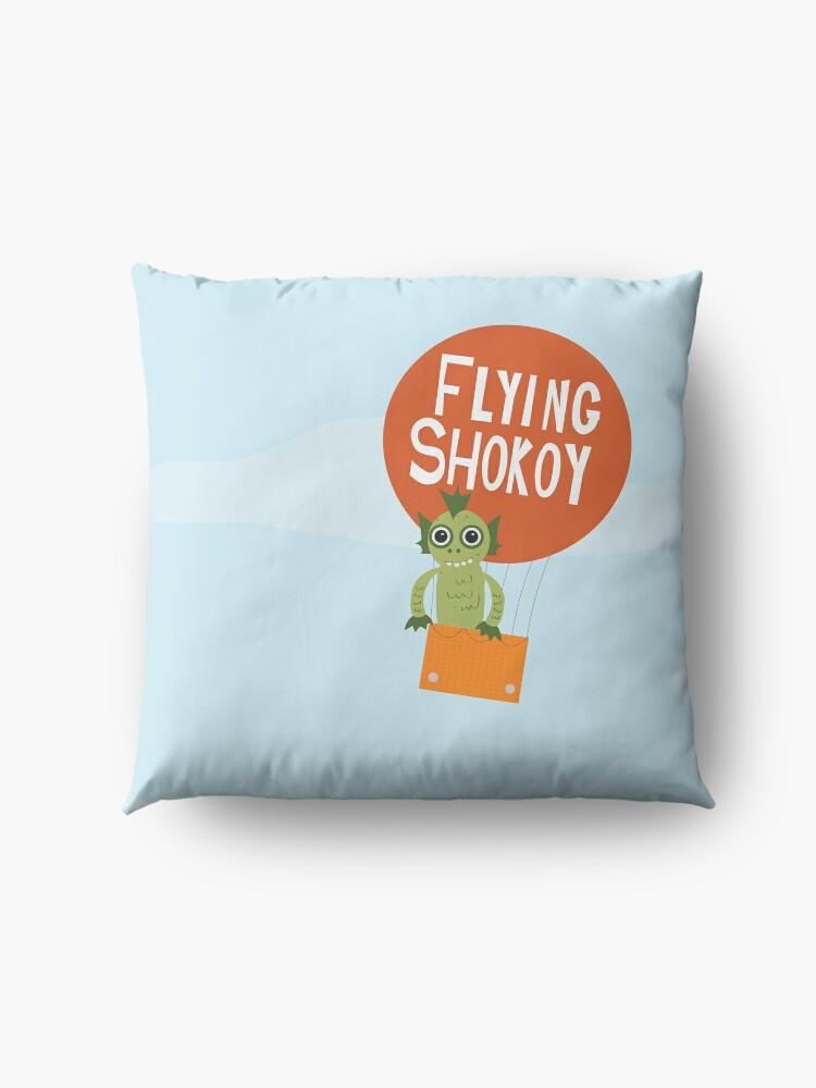 Alternate view of Flying Shokoy Floor Pillow