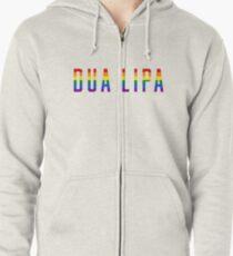 Dua Lipa (LGBT ) Zipped Hoodie
