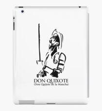 Don Quixote (Don Quijote de la Mancha) iPad Case/Skin