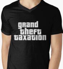Grand Theft Taxation Men's V-Neck T-Shirt