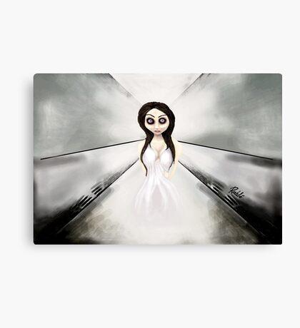 I feel like a ghost. Canvas Print