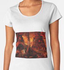 The infernal landscape Women's Premium T-Shirt