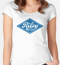 Riley - the Classic British Car Women's Fitted Scoop T-Shirt