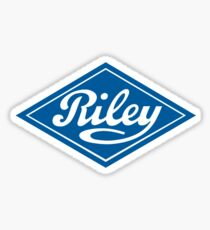 Riley - the Classic British Car Sticker