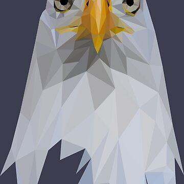 EAGLE - LOW POLY by HeliumArtStudio
