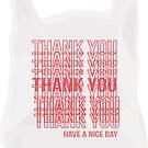 Thank You Bag by adjsr