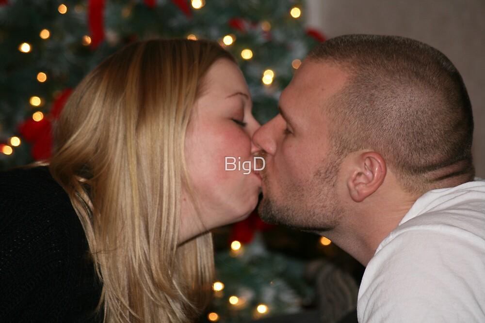 Christmas Kiss by BigD