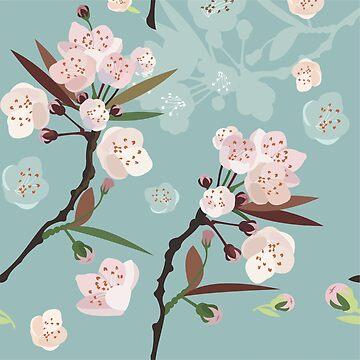 Kirschblüten von Niloufer