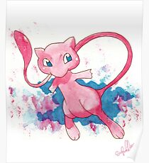 Mew! Pokemon  Poster