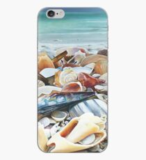 """Seashell painting """"Happy Collaboration"""" iPhone Case"""
