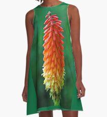 The Flame A-Line Dress