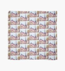 Paris Eiffel Tower inspired pointillism landscape by Kristie Hubler Scarf