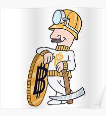 Bitcoin mining #8 (BTC) Poster