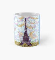 Eiffel Tower Pointillism by Kristie Hubler Mug