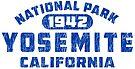 Yosemite National Park California Vintage Distressed by MyHandmadeSigns