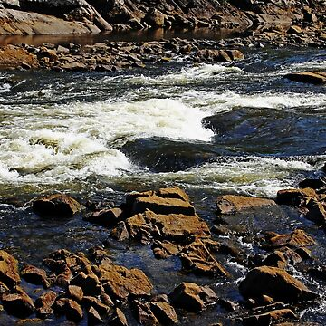 Rapids And Rocks by debop