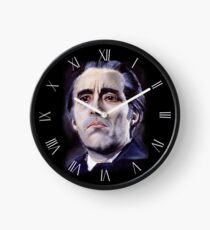 He is the embodiment of all that is evil. Clock