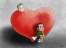 Valentine's waiting by Ivan Bruffa