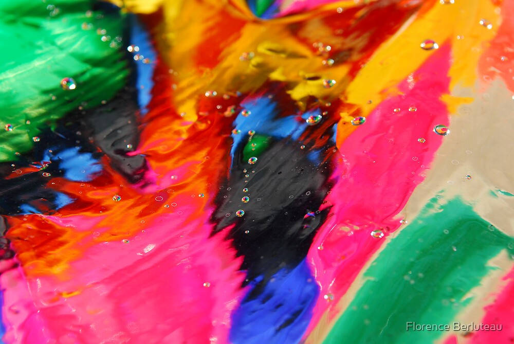 Water Colors I by Florence Berluteau