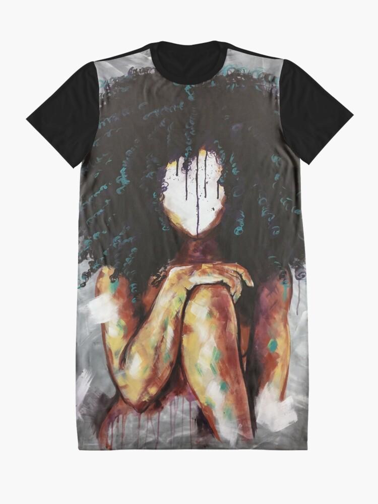 Alternative Ansicht von Natürlich ich T-Shirt Kleid