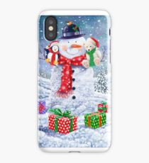 SNOWMAN AND CHUMS iPhone Case