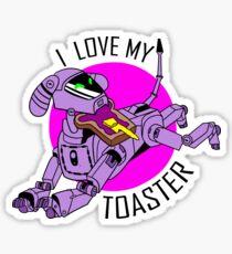 I love my toaster Sticker