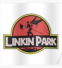 Linkin/Jurassic Park - Papercut Poster