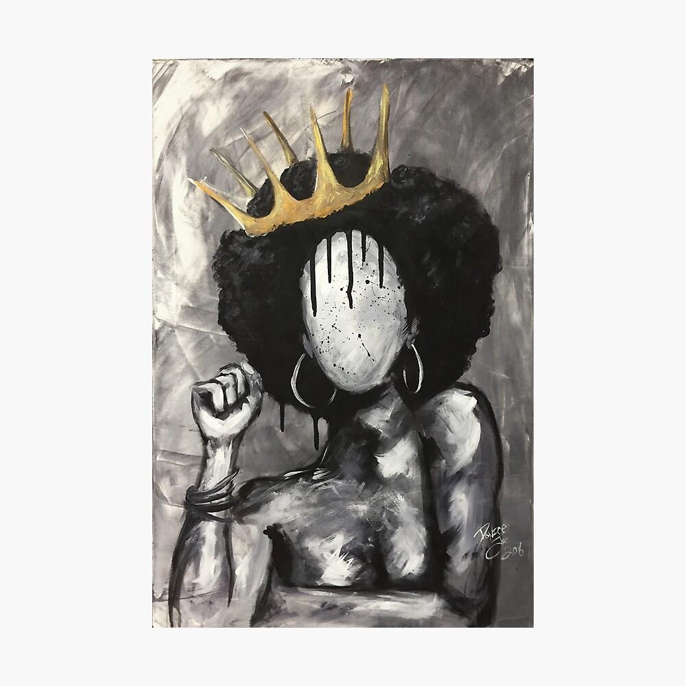 Natürlich Königin Fotodruck