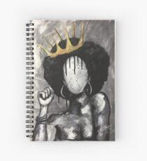 Naturally Queen Spiral Notebook