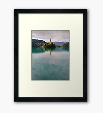 The Magnificent Lake Bled Framed Print