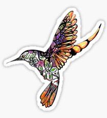 Celtic Hummingbird Sticker