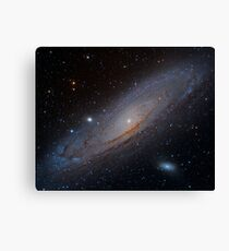 Messier 31 Andromeda Galaxy Canvas Print