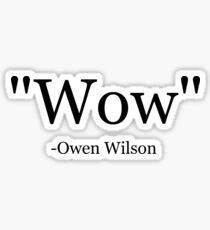 Owen Wilson Sticker