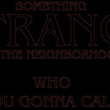 something strange by fenix92