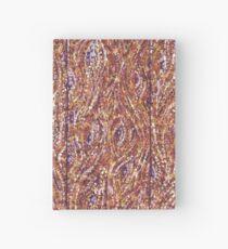 Wood Planks Pointillism by Kristie Hubler Hardcover Journal
