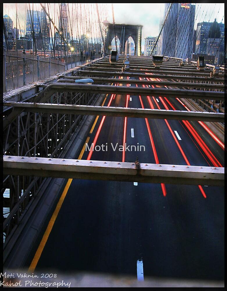 BROOKLYN BRIDGE by Moti Vaknin